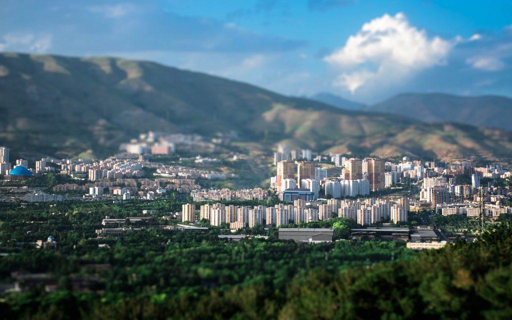 پس زمینه شمال شرق تهران - north east tehran wallpaper
